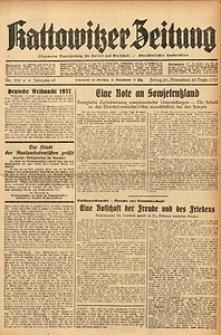 Kattowitzer Zeitung, 1937, Jg. 69, nr295