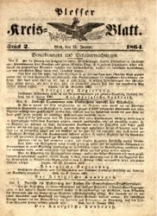 Plesser Kreis-Blatt, 1864, St.2