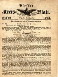 Plesser Kreis-Blatt, 1864, St.51