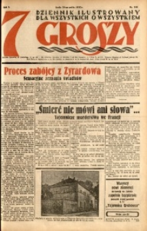 Siedem Groszy, 1932, R. 1, nr 158