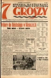 Siedem Groszy, 1932, R. 1, nr 170