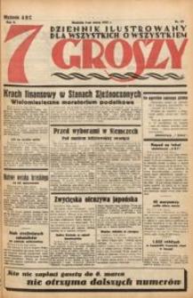Siedem Groszy, 1933, R. 2, nr 64