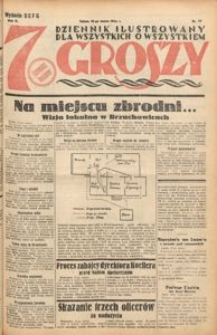 Siedem Groszy, 1933, R. 2, nr 77