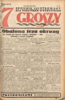 Siedem Groszy, 1933, R. 2, nr 88