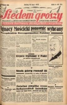 Siedem Groszy, 1933, R. 2, nr 126