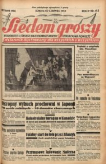 Siedem Groszy, 1933, R. 2, nr 156