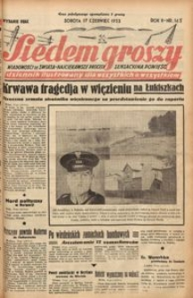 Siedem Groszy, 1933, R. 2, nr 163