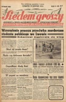 Siedem Groszy, 1933, R. 2, nr 217