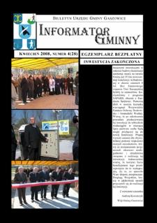 Informator Gminny - Gaszowice, 2008, nr4 (28)