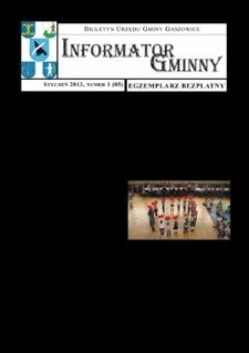 Informator Gminny - Gaszowice, 2013, nr1 (85)