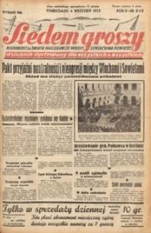 Siedem Groszy, 1933, R. 2, nr 242