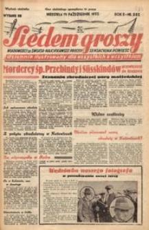 Siedem Groszy, 1933, R. 2, nr 284