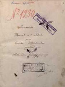 Menonita. Dramat w 4 aktach przez Ernesta Wildenbrucha przekład Aleksandra Podwyszyńskiego