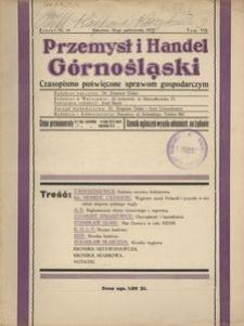 Przemysł i Handel Górnośląski, 1925, [R.3], t. 8, z. 14