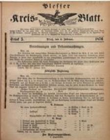 Plesser Kreis-Blatt, 1876, St. 5