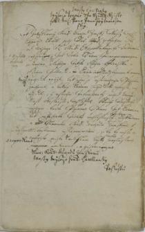 Sprawozdania i oświadczenia w sprawie przebiegu przesłuchania Jerzego Juraszka i trzech innych zbójników z państwa frydeckiego przez sąd ławniczy w Cieszynie w 1716 r.