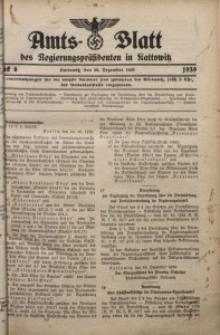 Amts-Blatt des Regierungspräsidenten in Kattowitz, 1939, St. 6