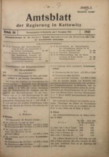 Amtsblatt der Regierung in Kattowitz, 1942, St. 46