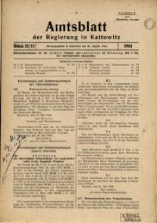 Amtsblatt der Regierung in Kattowitz, 1944, St. 32/33
