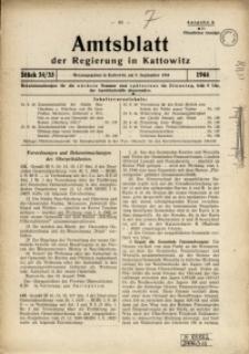 Amtsblatt der Regierung in Kattowitz, 1944, St. 34/35