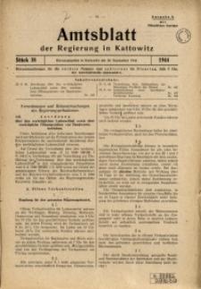 Amtsblatt der Regierung in Kattowitz, 1944, St. 38