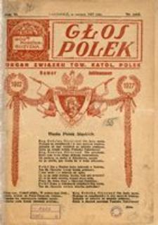 Głos Polek, 1927, nr jubileuszowy