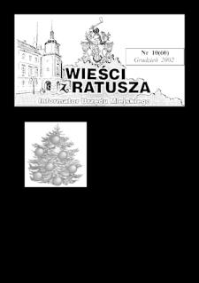Wieści z Ratusza, 2002, nr10 (60)