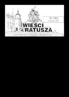 Wieści z Ratusza, 2003, nr1 (61)