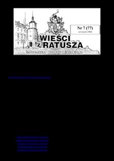 Wieści z Ratusza, 2004, nr7 (77)