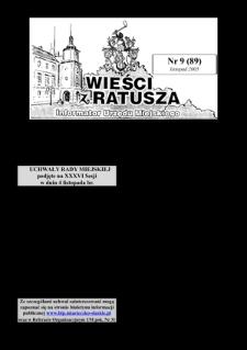 Wieści z Ratusza, 2005, nr9 (89)