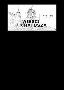 Wieści z Ratusza, 2007, nr1 (100) Dodatek