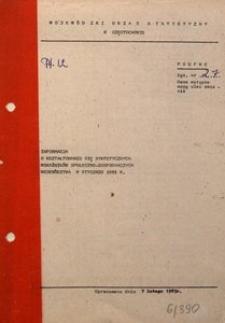 Informacja o Kształtowaniu się Syntetycznych Wskaźników Społeczno-Gospodarczych Województwa w Styczniu 1983 R.