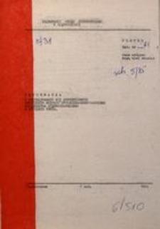 Informacja o Kształtowaniu się Syntetycznych Wskaźników Rozwoju Społeczno-Gospodarczego Województwa Częstochowskiego w Styczniu 1985 R.