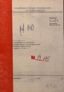 Informacja o Kształtowaniu się Syntetycznych Wskaźników Rozwoju Społeczno-Gospodarczego Województwa Częstochowskiego w Okresie I-IV 1985 R.
