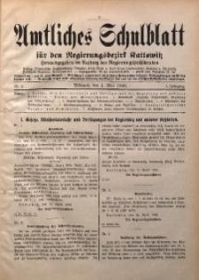Amtliches Schulblatt für den Regierungsbezirk Kattowitz, 1940, Jg. 1, Nr. 3