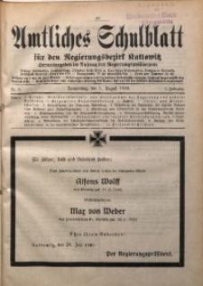 Amtliches Schulblatt für den Regierungsbezirk Kattowitz, 1940, Jg. 1, Nr. 9