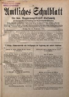 Amtliches Schulblatt für den Regierungsbezirk Kattowitz, 1940, Jg. 1, Nr. 12
