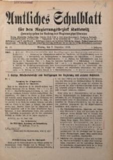 Amtliches Schulblatt für den Regierungsbezirk Kattowitz, 1940, Jg. 1, Nr. 17