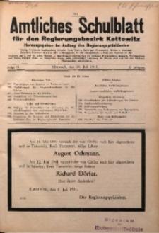 Amtliches Schulblatt für den Regierungsbezirk Kattowitz, 1941, Jg. 2, Folge 14