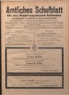 Amtliches Schulblatt für den Regierungsbezirk Kattowitz, 1942, Jg. 3, Folge 3