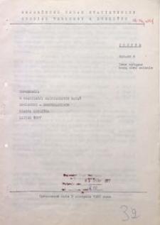 Informacja o realizacji ważniejszych zadań społeczno-gospodarczych miasta Lublińca, lipiec 1977