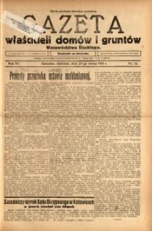 Gazeta Właścicieli Domów i Gruntów Województwa Śląskiego, 1931, R. 4, nr 12