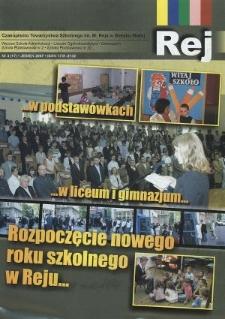 Rej. Nr 3(17). Jesień 2007 : czasopismo Towarzystwa Szkolnego im. M. Reja w Bielsku-Białej