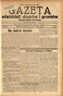 Gazeta Właścicieli Domów i Gruntów Województwa Śląskiego, 1931, R. 4, nr 36