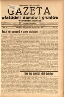 Gazeta Właścicieli Domów i Gruntów Województwa Śląskiego, 1931, R. 4, nr 37