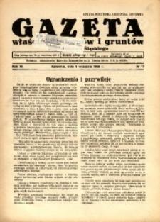 Gazeta Właścicieli Domów i Gruntów Województwa Śląskiego, 1938, R. 11, nr 17