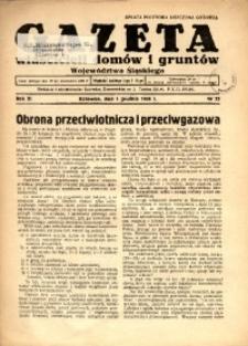 Gazeta Właścicieli Domów i Gruntów Województwa Śląskiego, 1938, R. 11, nr 23