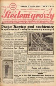 Siedem Groszy, 1934, R. 3, nr 22 okazowy. - Wyd. DEGC