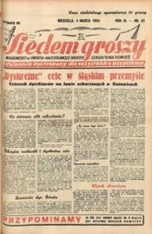 Siedem Groszy, 1934, R. 3, nr 62. - Wyd. DE