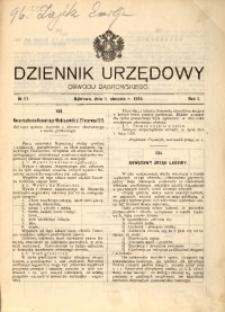 Dziennik Urzędowy Obwodu Dąbrowskiego, 1915, R. 1, No 11